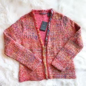 Liz Claiborne Tweed Open Front Jacket